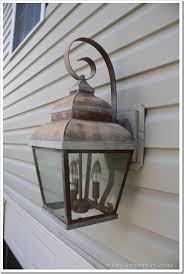 Copper Outdoor Lighting Fixtures Copper Get The Look For Less Sand And Sisal