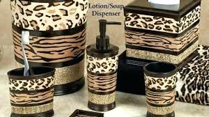 Animal Print Bathroom Ideas Animal Print Bathroom Theoutlines Co