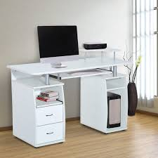 Small Computer Desk With Drawers Small Computer Desk Ideas For Small Spaces Home Design Ideas