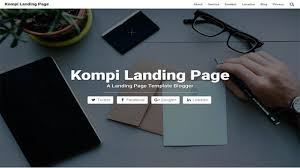 landing page for blogger own abbas