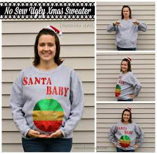 no sew diy ugly christmas sweater