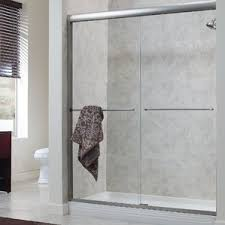 glass tub shower doors frameless shower u0026 bathtub doors you u0027ll love wayfair