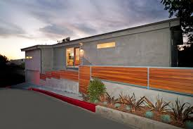 Mid Century Modern Interiors by Architecture Classy Half Wooden Fencing Outdoor Landscaping Ideas