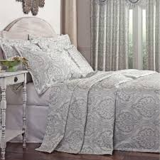 Light Grey Bedspread by The Most Brilliant And Also Attractive Grey Bedspread Intended For