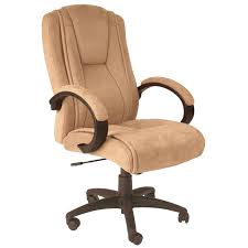 Office Computer Chair by Serta Microfiber Executive Office Chair Light Beige Hayneedle
