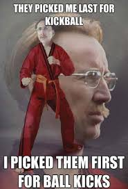 Nerd Karate Kid Meme - nerd karate kid meme