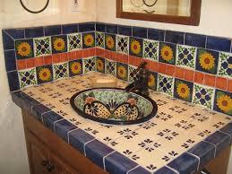 mexican tile backsplash plan cabinet hardware room good