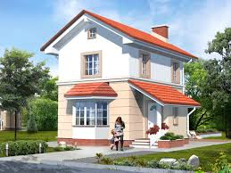 house plan by akvilonpro u0027 u0027boris 2 u0027 u0027 73 sq m two storey house