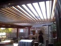 Louvered Patio Roof Arcadia Louvered Roof System Youtube