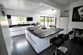 centre islands for kitchens black white fitted kitchen headroomgate rd keller design for