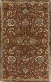 Rust Area Rug Astoria Grand Philpott Rust Area Rug Reviews Wayfair