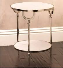 Aluminum Accent Table Lovable Marble Accent Table Darcy Marble Top Accent Side Table