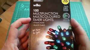 multi function christmas lights wilko 100 multifunction colour timer christmas lights 7 50