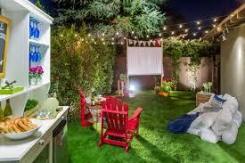 How To Make A Backyard Movie Screen by Summer Backyard Diy Design Ideas Hgtv