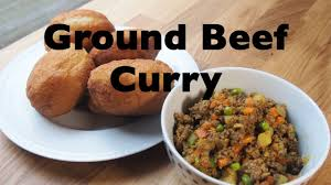 how to make simple curried ground beef youtube