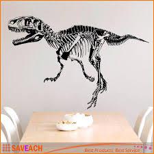 black creative dinosaur skeleton wall stick dinosaurs wall black creative dinosaur skeleton wall stick dinosaurs wall stickers living room bedroom adornment for kids