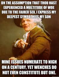 Joseph Ducreux Memes - joseph ducreux memes quickmeme