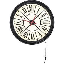 horloge murale engrenage horloge gear 60cm kare design