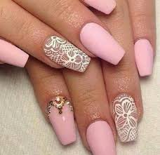 White Pink Nail 39 Pink And White Nail Designs Picsrelevant