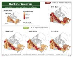 Wildfire Map Of Canada by Fire Regime Natural Resources Canada