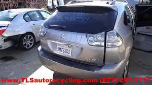 2005 lexus rx330 interior parting out 2005 lexus rx 330 stock 5014pr tls auto recycling