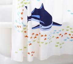 Shark Bedroom Curtains Gorgeous Shark Bedroom Curtains Designs With Shark Shower Curtain