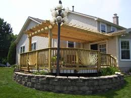 very cool deck pergola u2014 all home design ideas