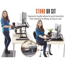 Standing Or Sitting Desk Flexpro 37 Inch Sit Stand Desk Converter Standing Steady Kylma37bl 359 600x Jpg V 1522598818