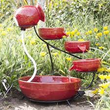 amazon com best choiceproducts ceramic solar water fountain