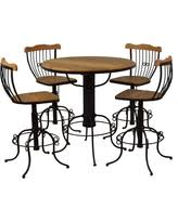 Rustic Bistro Table And Chairs Great Deals On Bistro Table Rustic Wood