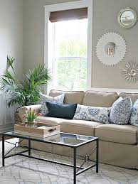 no money decorating for every room beige sofa thrifty decor