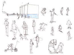 los angeles sketchcrawl venice shiho nakaza illustration and