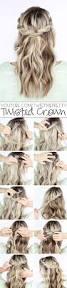 cute braided hairstyles for long straight hair easy braid