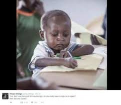 Money Boy Meme - ghanaian boy who became a meme helps his village raise education