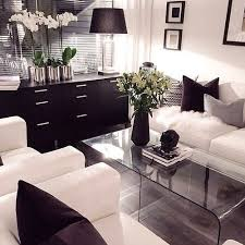 home decor black and white modern decorations for living room glamorous ideas black room