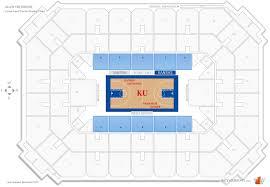 allen fieldhouse lawrence ks basketball lower level center jpg