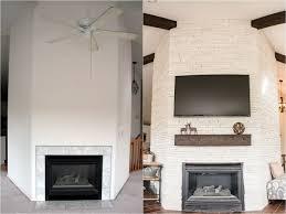 flagstaff fireplace before u0026 after the tomkat studio blog