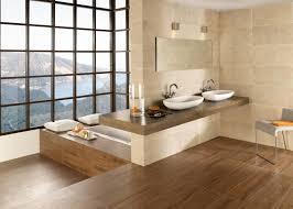 schlafzimmer naturholz innenarchitektur kühles kühles badezimmer landhausstil fliesen