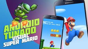 mario android visual mario android tunado baixaki android