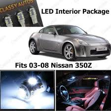 nissan 350z quick release amazon com classy autos nissan 350z white interior led package 5