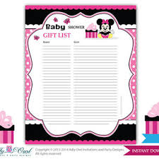 baby shower sign in best minnie mouse showers products on wanelo