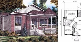 Floor Plans For Bungalows 7 Charming Floor Plans For Tiny Two Bedroom Bungalows