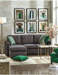 Charcoal Gray Sectional Sofa Chaise Lounge Best 25 Sectional Sofa With Sleeper Ideas On Pinterest Modern