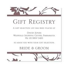 wedding registry gift bridal registry wedding gift promo code to receive