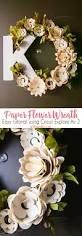 bouquet en papier best 25 paper flower wreaths ideas only on pinterest rose
