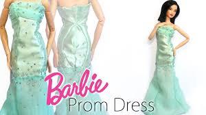 how to doll prom dress miniature barbie prom dress tutorial
