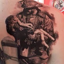 firefighter tattoos ideas u0026 designs tattoo chief