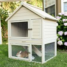 new rabbit hutches provide more options to house your pet new