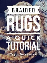 Thrift Rugs Braided Rugs A Quick Tutorial U2014 M L Gardner