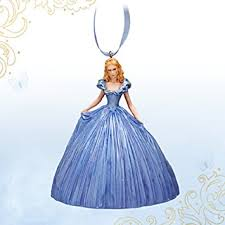 disney store cinderella dress ornament live